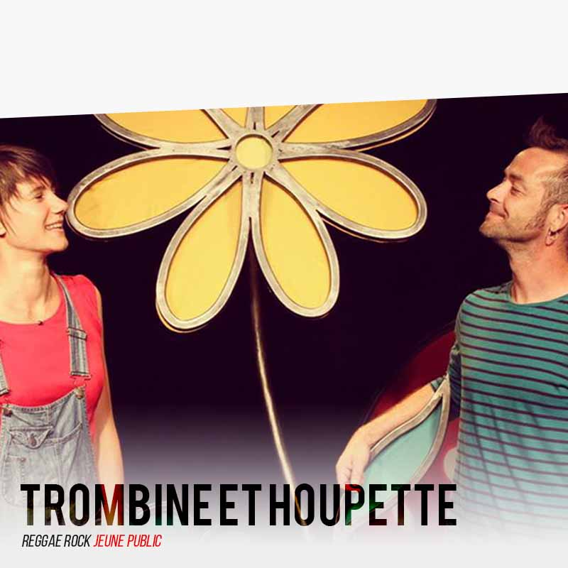 Trombine et Houpette - Reggae Rock Jeune Public